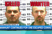 Manhunt continues for one escaped convict