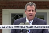 Christie to announce presidential decision
