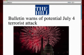US intelligence warns of possible ISIS attack