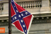 Thousands rally to keep Confederate flag