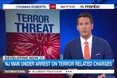 Suspected ISIS sympathizer arrested in NJ