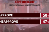 Obama's approval numbers get a boost