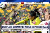 USA plays Germany in World Cup Semi-Finals