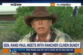 Rand Paul meets with Cliven Bundy