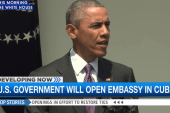 US government will open embassy in Cuba