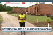 Investigation into SC church fire continues