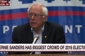 Sanders continues his rise in Iowa