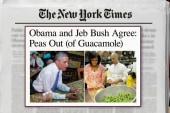 Geist jokes: Peas in guac 'issue of our time'