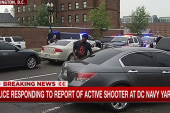Reports of gunshots heard at DC Navy Yard