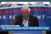 Bernie Sanders building serious momentum