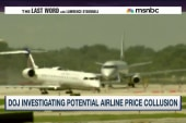 DOJ investigating airlines for price fixing