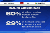 Progress on paid parental leave for dads?