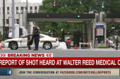 Report: Shot fired at Walter Reed