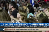 Markets react to Greece referendum