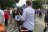 Clinton campaign wrangles reporters