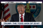 Donald Trump: the Todd Akin of 2016?