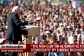 Clinton camp starts taking Sanders seriously