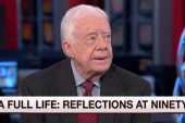 Jimmy Carter: US is in a decline of influence