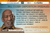 Cosby admits to giving sedatives to women