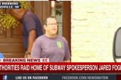 Authorities raid home of Subway spokesperson