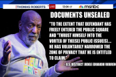 Cosby's lawyers fought to keep docs sealed