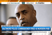 Baltimore police commissioner fired