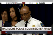 Police commissioner replaced in Baltimore