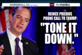 RNC chairman tells Trump to 'tone it down'