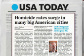 Big US cities see rise in homicides
