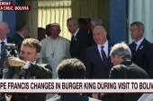 The time Pope Francis went into a Burger King