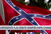 Confederate flag debate signifies rapid...
