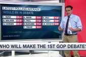 GOP debates: Who's in and who's out?