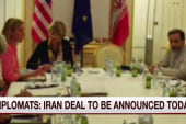 Diplomats: Iran deal to be announced Monday