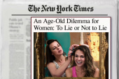 Why younger women are lying about their age