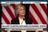 Clinton calls out Jeb Bush in economic speech