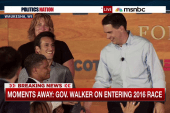 The GOP field swells to 15 with Scott Walker