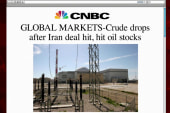 Oil markets react to Iran nuclear deal