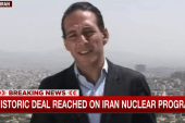 'A huge day for the people in Iran'