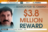 $3.8m reward issued for 'El Chapo' capture