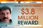$3.8m reward issued for 'El Chapo' capture