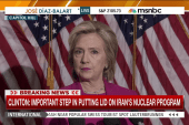 Hillary Clinton addresses Iran deal