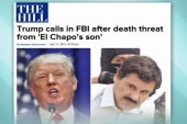 Trump speaks out on purported kingpin threat