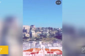 Snapchat story shows life in West Bank