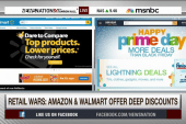 Retail wars: Amazon vs. Walmart