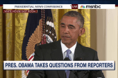 President Obama addresses Cosby allegations