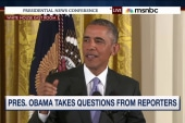 Obama presses the press for Iran questions