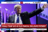 Trump files financial disclosure statement