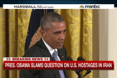 President Obama slams question on U.S....