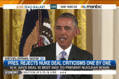 Obama, Biden take on Iran deal critics