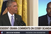 Obama comments on the Bill Cosby scandal